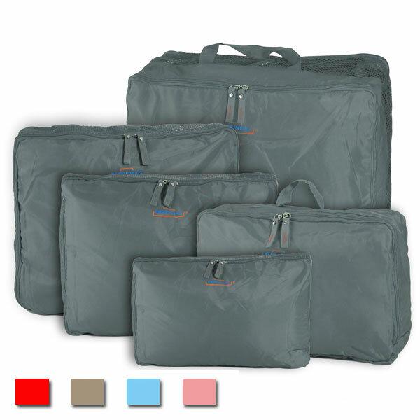 5 पीसीएस यात्रा घरेलू भंडारण नायलॉन जिपर बैग आयोजक अंडरवियर टाई प्रसाधन सामग्री कपड़े सामान सूटकेस पाउच