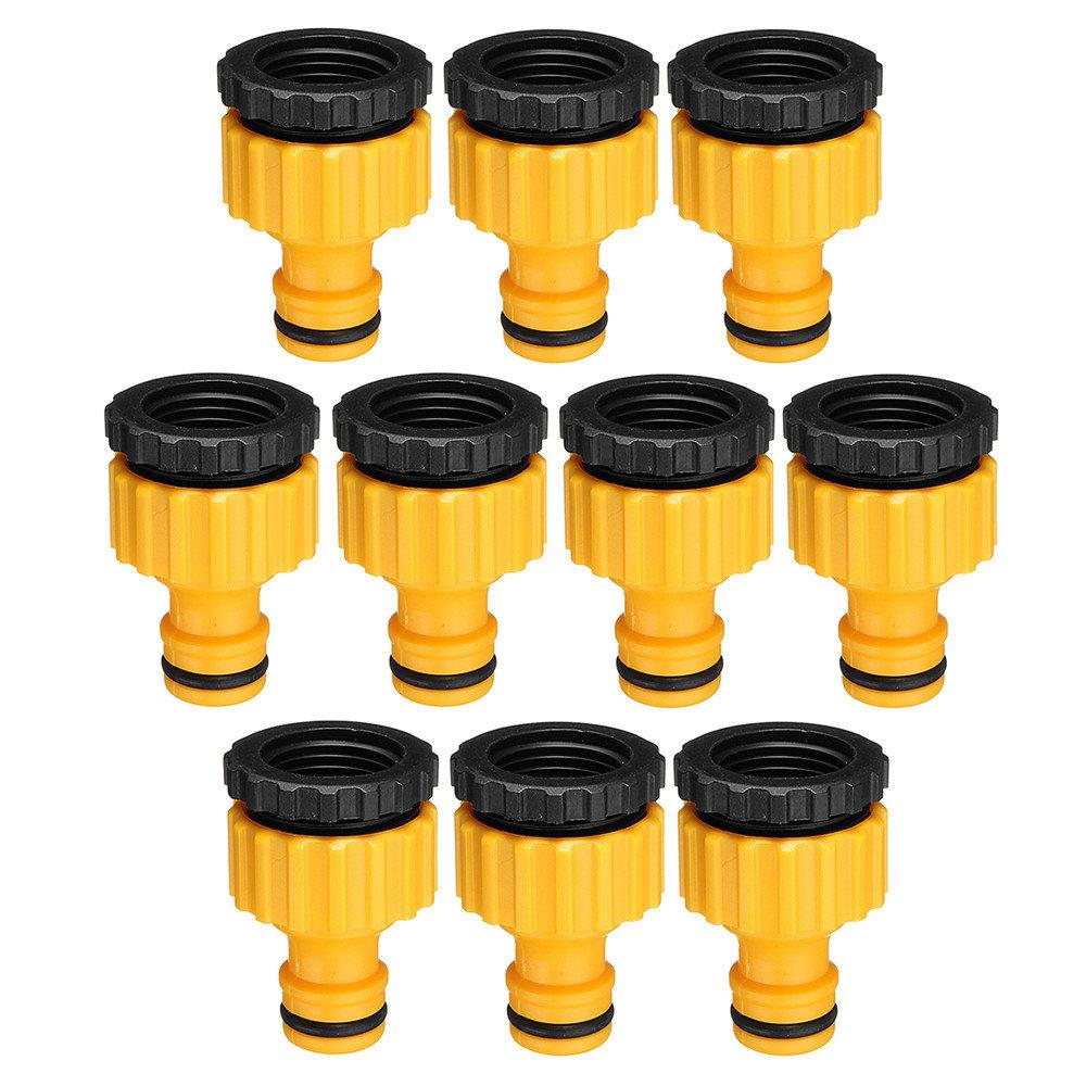 10Pcs 1/2 3/4 Inch ABS Garden Tap Adapter Female Washing Machine Faucet Hose