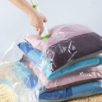 Vacuum Compress Bag Vacuum Storage Bag Save Space Saving Seal Quilts Clothes Holder Organizer