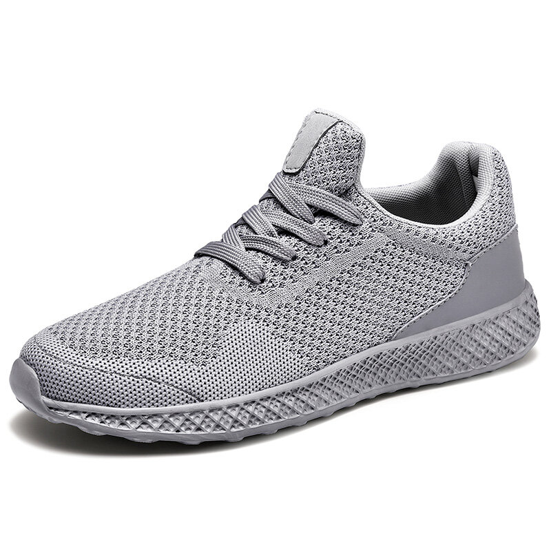 Mens Breathable Mesh Lightweight Breathable Sports Running Casual Sneakers