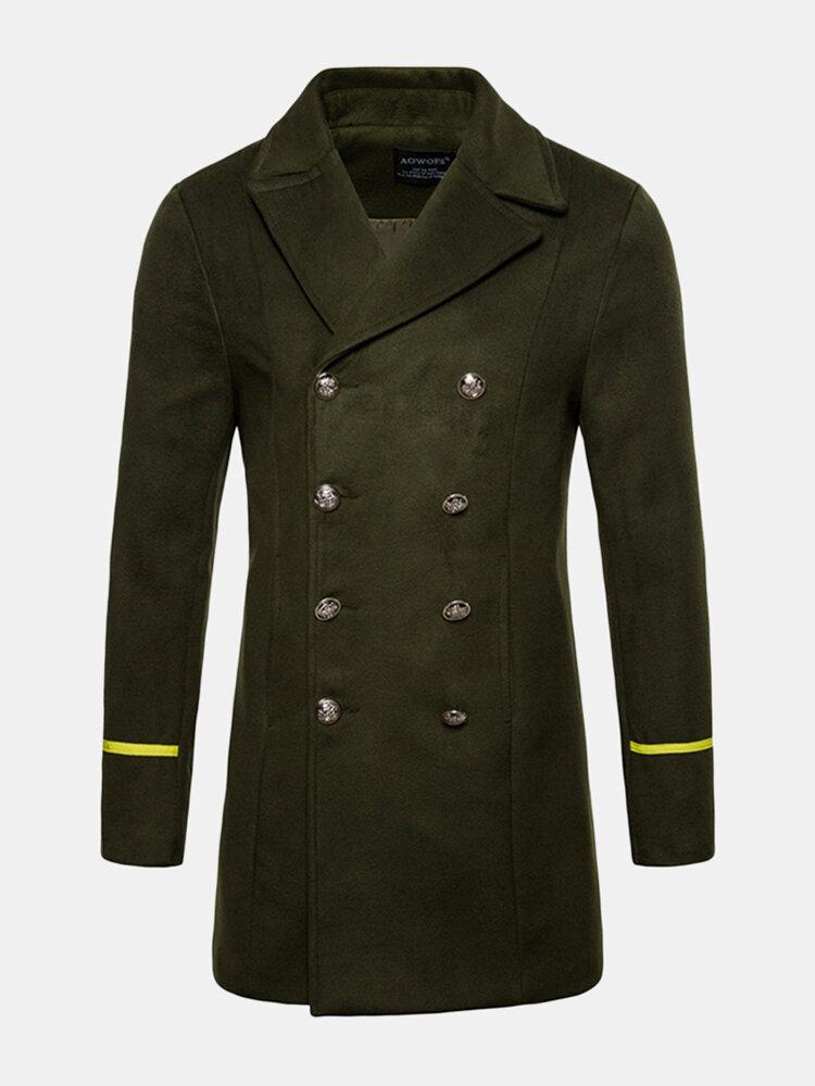 Trench coat di lana