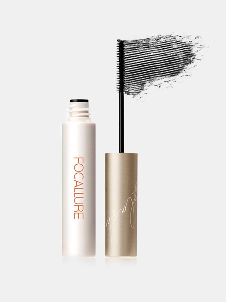 4D Extra-Fine Mascara Waterproof Curly Black Eyelash Extension Fiber-Filled Eye Makeup