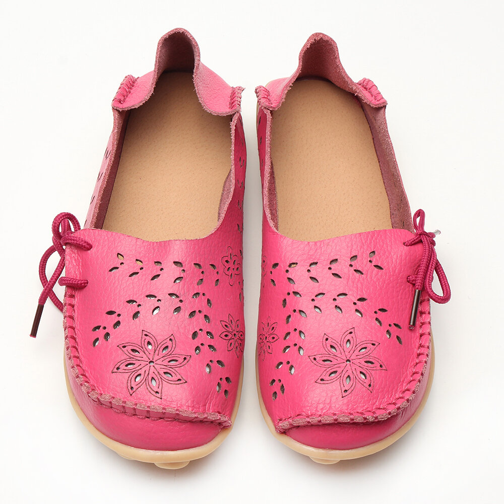Large_Size_Breathable_Hollow_Out_Flat_Lace_Up_Soft_Leather_Shoes