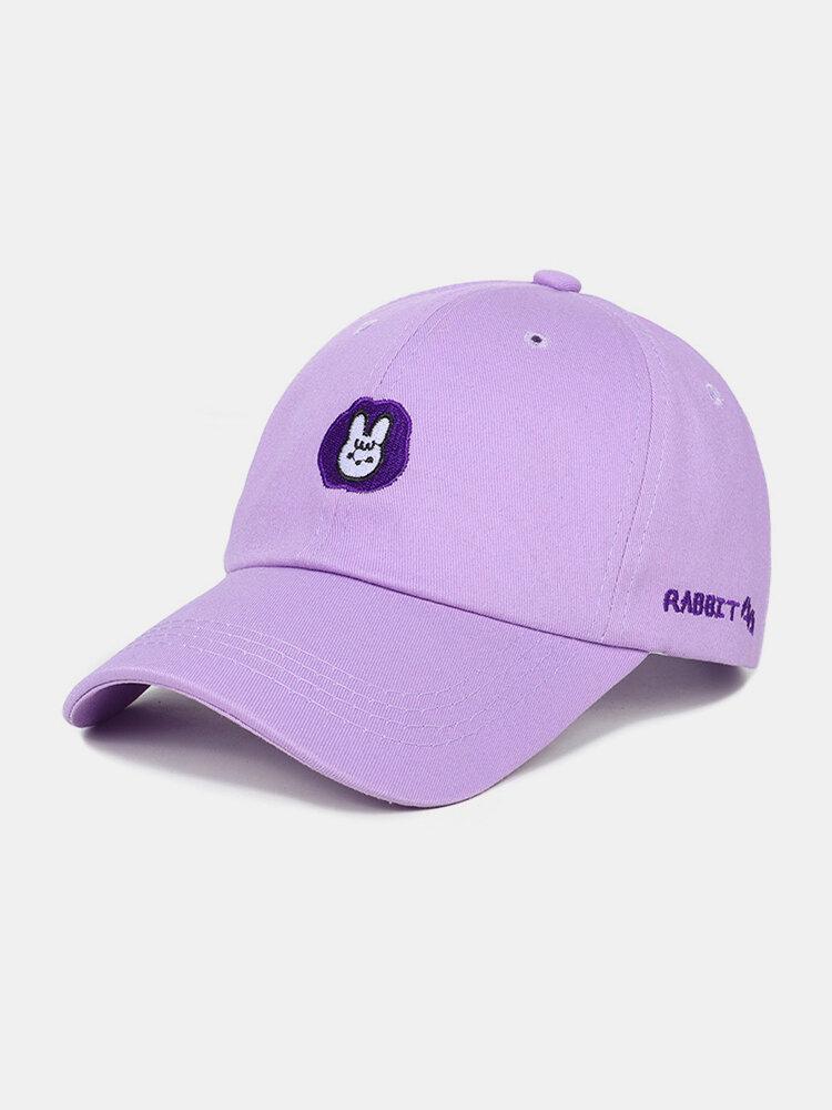 Unisex Cotton Embroidery Animal Pattern Summer Casual Sunshade Fashion Baseball Hat