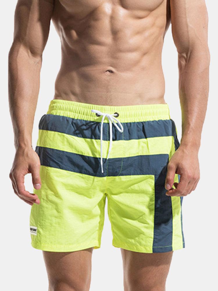 zuverlässige Qualität verkauf uk am besten bewertet neuesten Männer Wasserabweisende Mesh Futter Knie Länge Hawaiian Board Shorts  Badehose