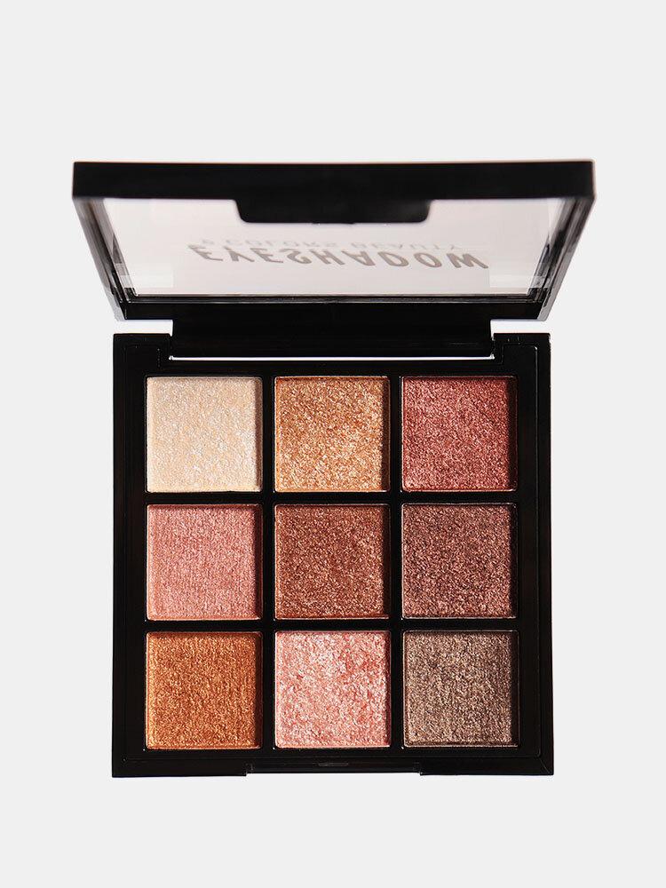 4 Colors Smoky Eyeshadow Palette Lasting Shimmer Matte Eye Shadow Palette Eye Makeup Cosmetic