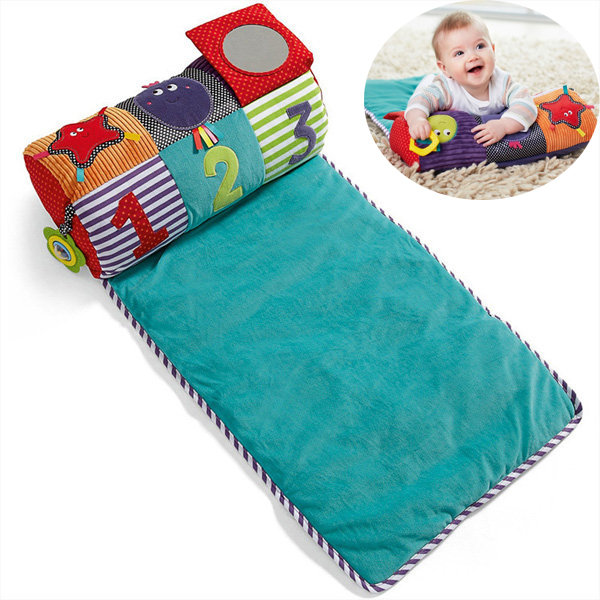 Multifunctional Infant Baby Climbing Play Mat Plush Pillow Educational Delvelopment Toy