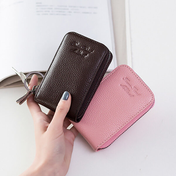 Women PU Leather Card Holder Wallets Coin Bags Business Purse