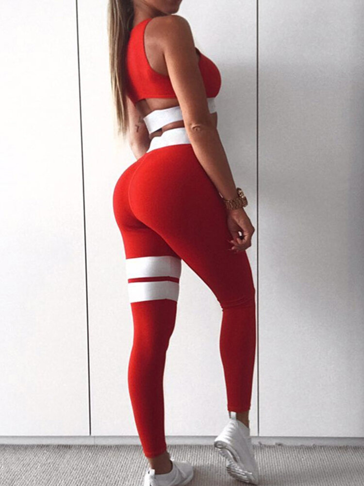 Women's Sexy Yoga Sports Suit Sports Fitness Suit