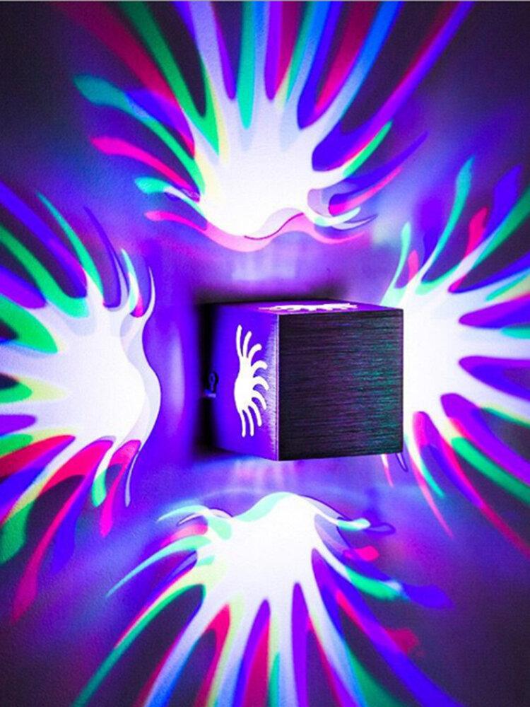 مصباح حائط الطبيعة المضيء ذو الظل المضيء KTV Bar مزاج ديكور المنزل