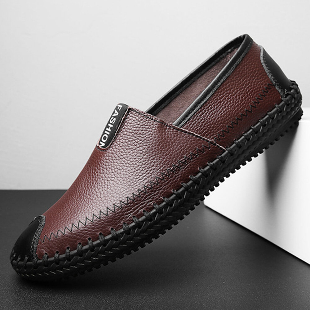 Men_Hand_Stitching_Soft_Slip_On_Casual_Driving_Leather_Loafers