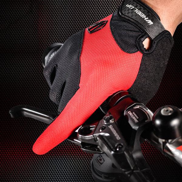Wheelup Men Women Riding Non-Slip Gloves Outdoor Soprts Breathable Full Fingers Gloves