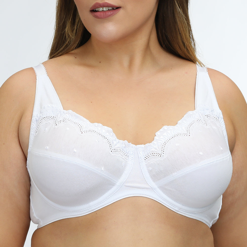 Push Up Lace Lightly Lined Breathable Underwire Bras