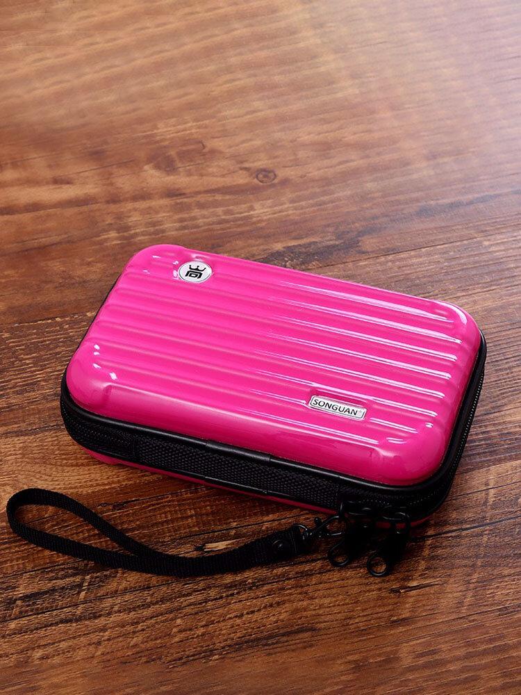 ABS + PC Portable Sac De Rangement Téléphone Sacs Pochettes Sac De Lavage Sacs Cosmétiques Pour Femmes