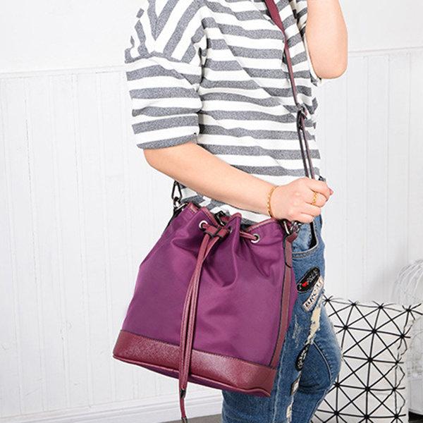 Hot-sale designer KVKY Women Nylon Dual-Use Bucket Bag Shoulder Bag Online