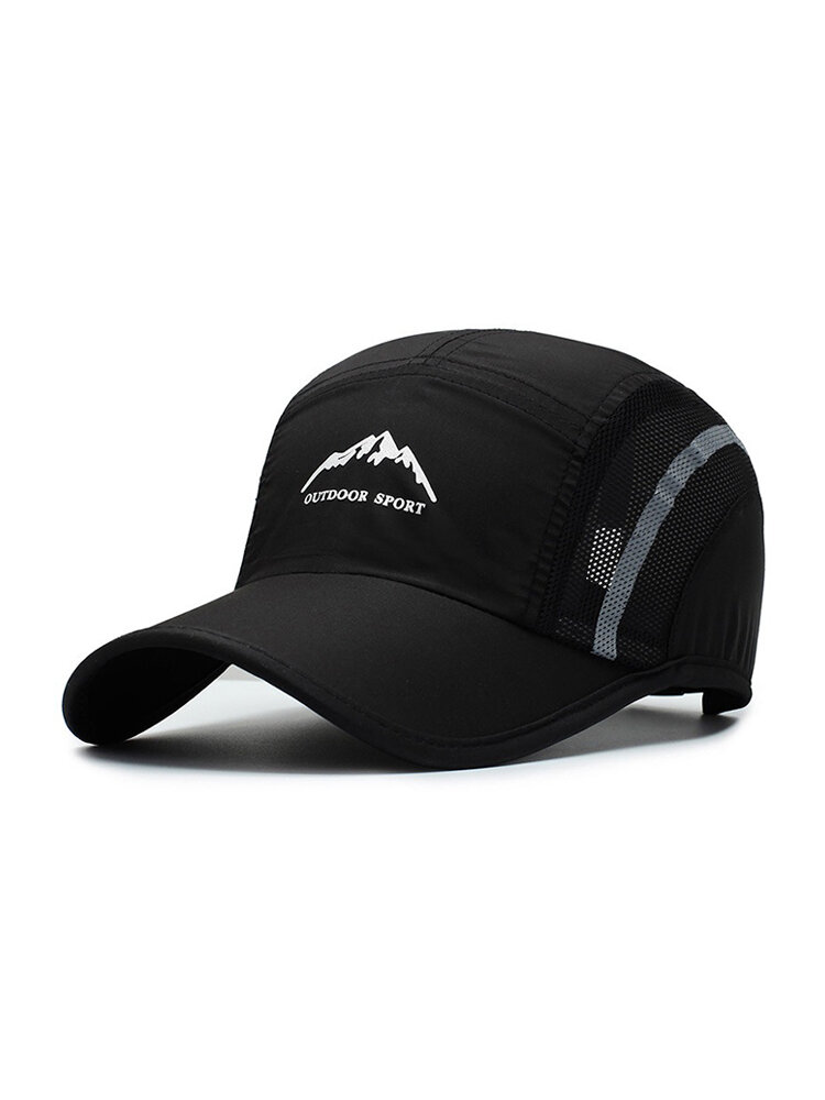 Mens Womens Summer Casual Mesh Breathable Baseball Cap Outdoor Sports Adjustable Sunshade Cap