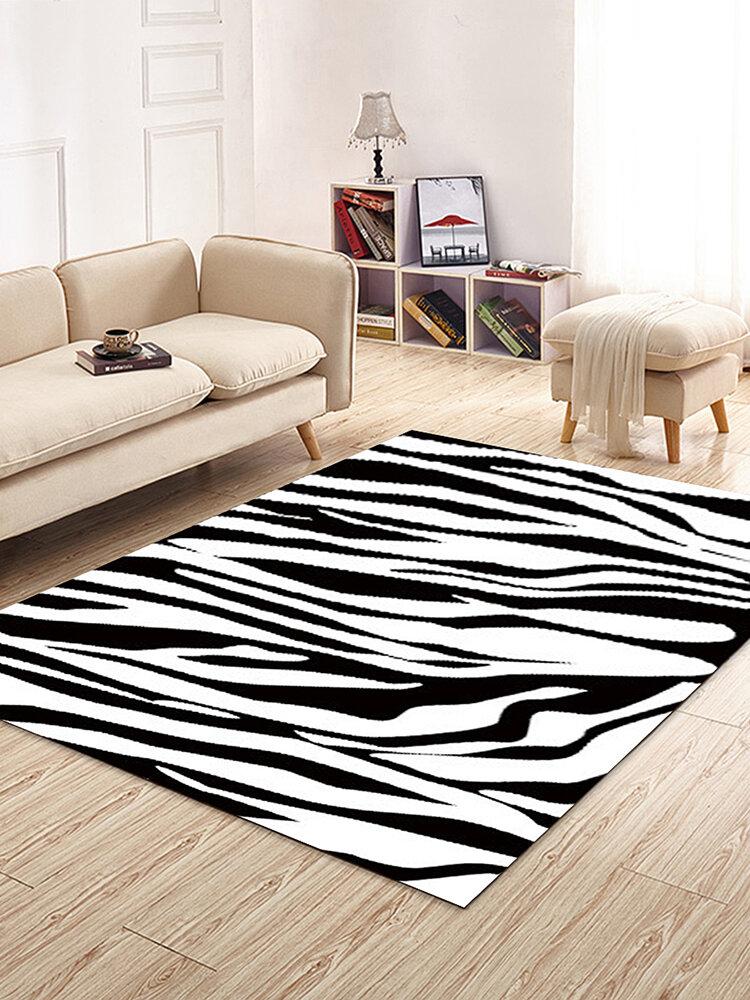 Alfombra moderna minimalista impresa en 3D, sala de estar, dormitorio, mesita de noche, mesa de centro, estudio, restaurante, vestíbulo, alfombra