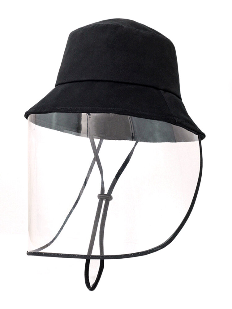 Anti-fog Spraying Fisherman Hat Anti-dust Breathable Sunshade Removable Sun Visor