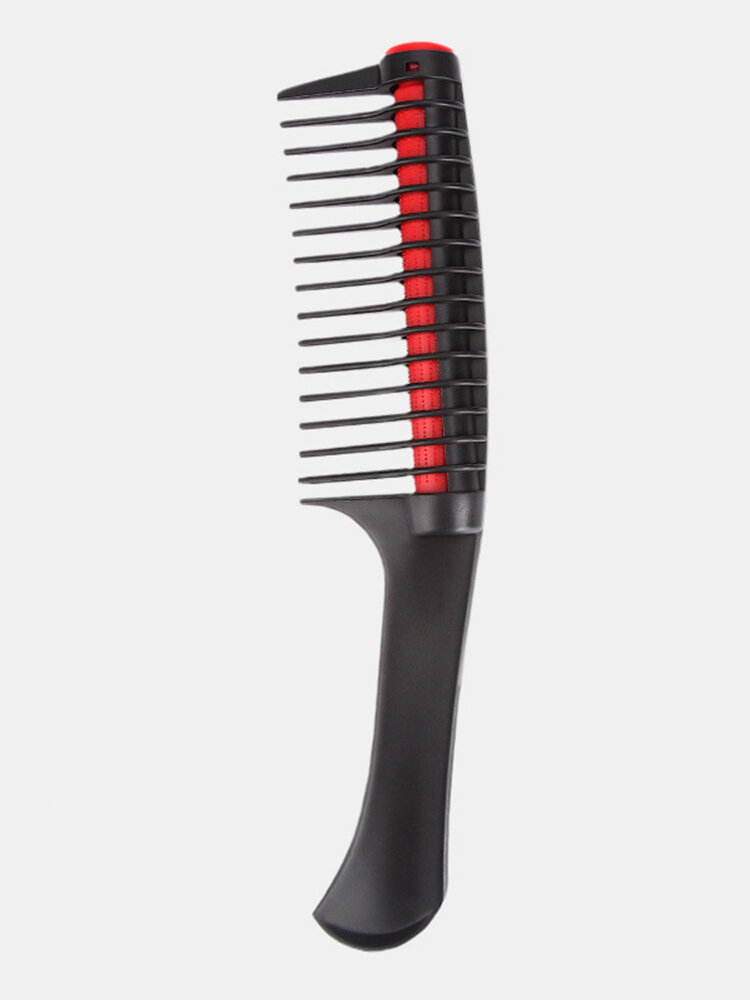 Rolling Comb Anti-Knotted Fork Hair Comb Detachable Large Teeth Straight Hair Comb Tool