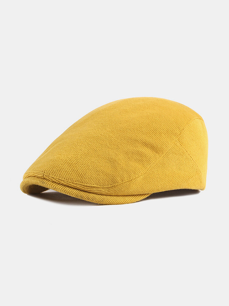 पुरुषों और महिलाओं के ठोस रंग आकस्मिक आउटडोर आगे टोपी फ्लैट टोपी टोपी टोपी