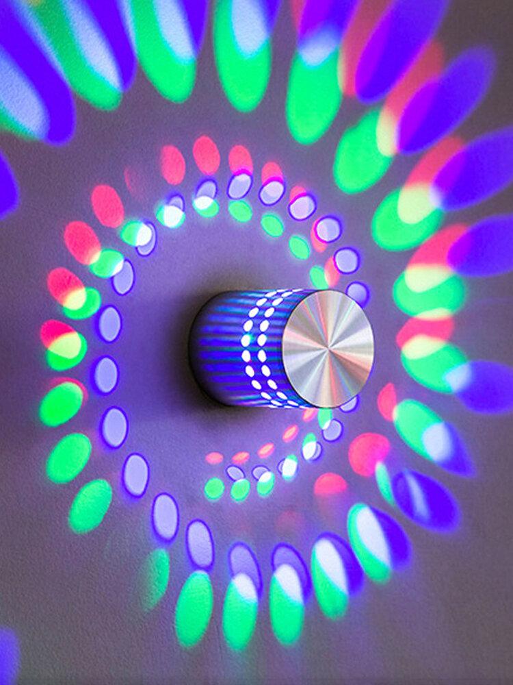 الإبداعية LED Colorful أضواء الممر السقف الحديث الجدار مصباح KTV بار المزاج ديكور المنزل