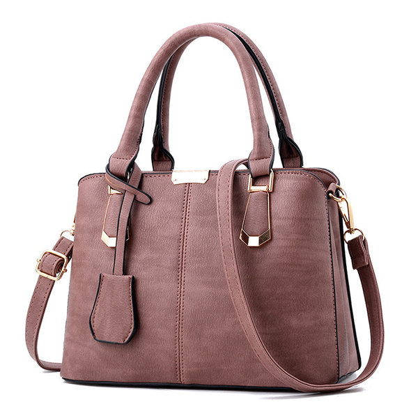 Women_Leisure_Solid_PU_Leather_Handbag_Casual_Crossbody_Bag