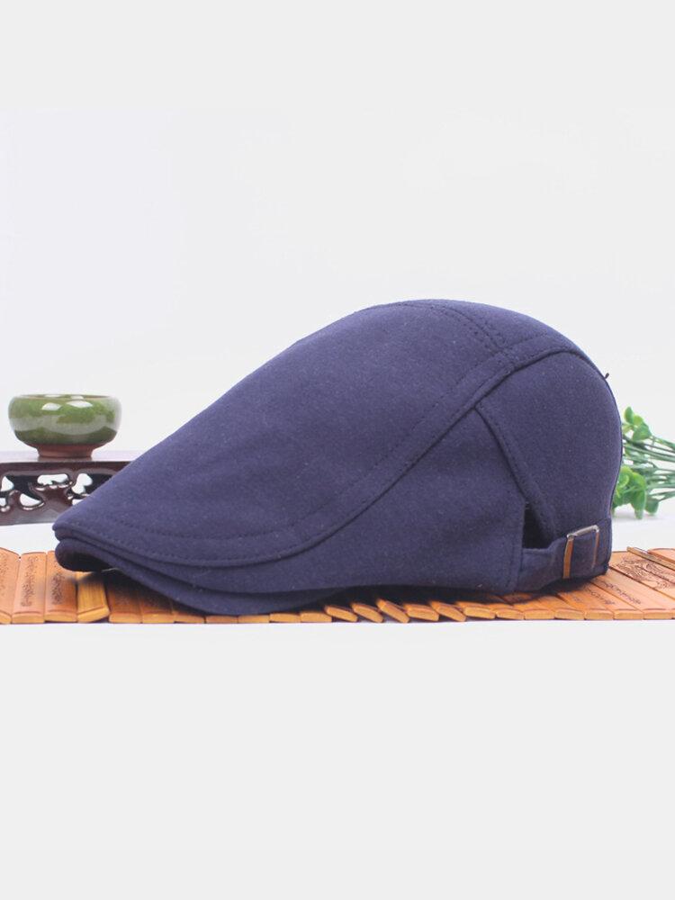 Men Women Cotton Blend Duckbill Ivy Cap Golf Driving Flat Cabbie Newsboy Beret Hat
