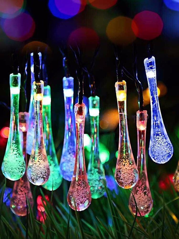 4.8M 20LED Battery Bubble Ball Fairy String Lights Garden Party Christmas Wedding Home Decor