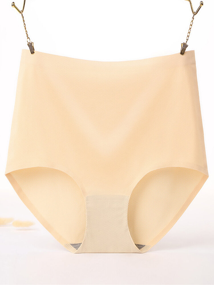 Plus Size High Waisted Butt Lifter Breathable Seamless Panties