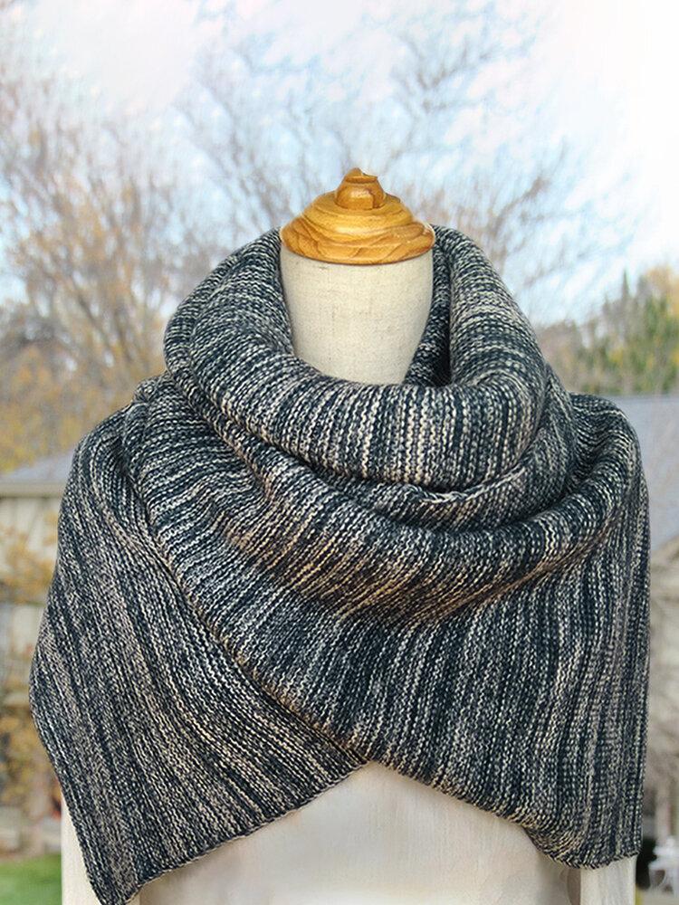 Women's Elegant Scarves & Shawls Buttoned Crochet Wrap Pattern
