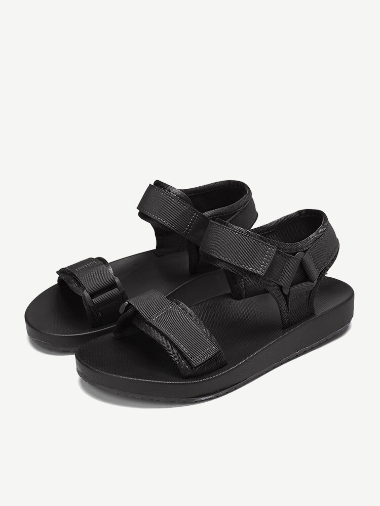 Women Summer Hook Loop Opened Toe Sports Casual Beach Sandals
