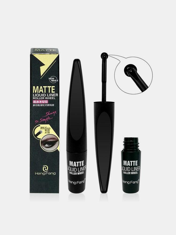 Ball Roller Waterproof Eyeliner Matte Waves Long Lasting Black Eye Liner Pen 5ml Eye Makeup