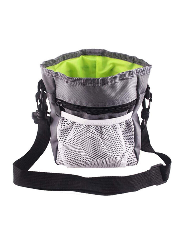 4 Farben Tragbare Reise Haustier Training Snack Bag Dog Treat Pouch Taille Trainingsbeutel