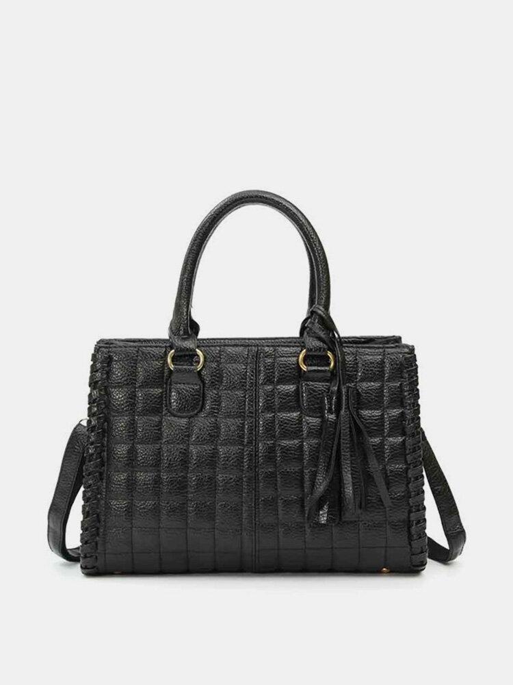 Women Casual Ling Soft Leather Handbag