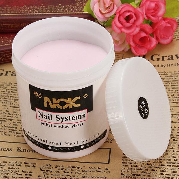 Jumbo Size Nail Art Crystal Acrylic Powder Carve Pink Clear White