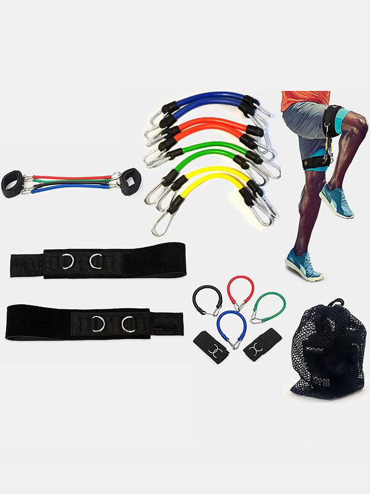 Taekwondo Training Latex Rally Football Leg Training Thigh Side Step Rally Belt