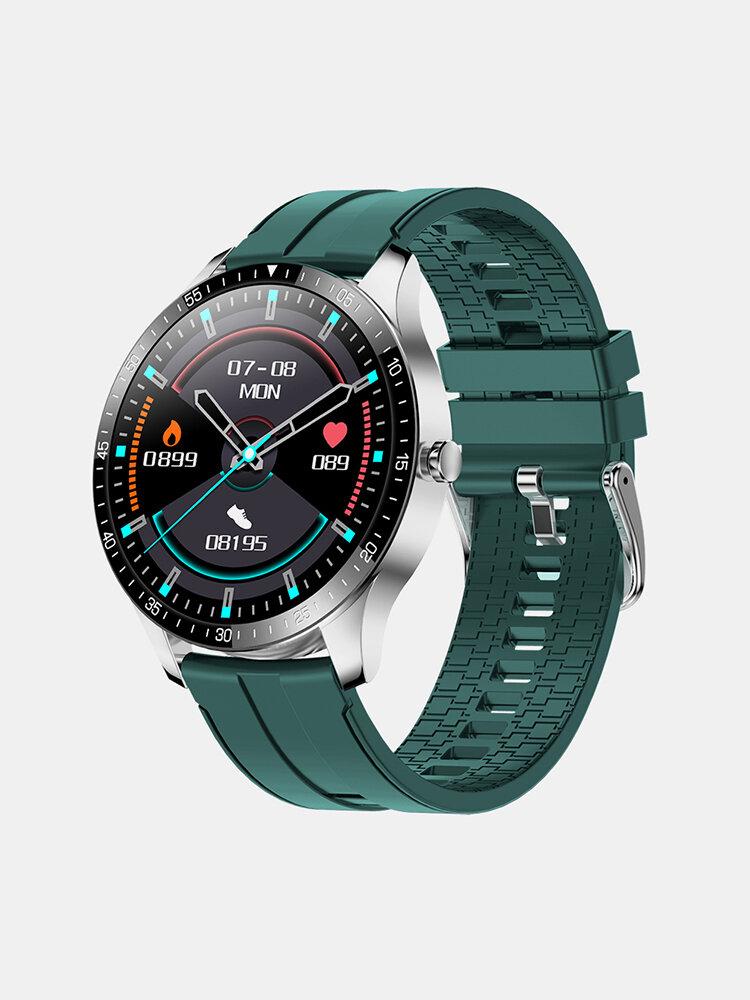 センボノS80フルタッチHDスクリーン心拍数血圧モニター30日間スタンバイ複数WatchフェイスIP68防水超薄型スマートWatch