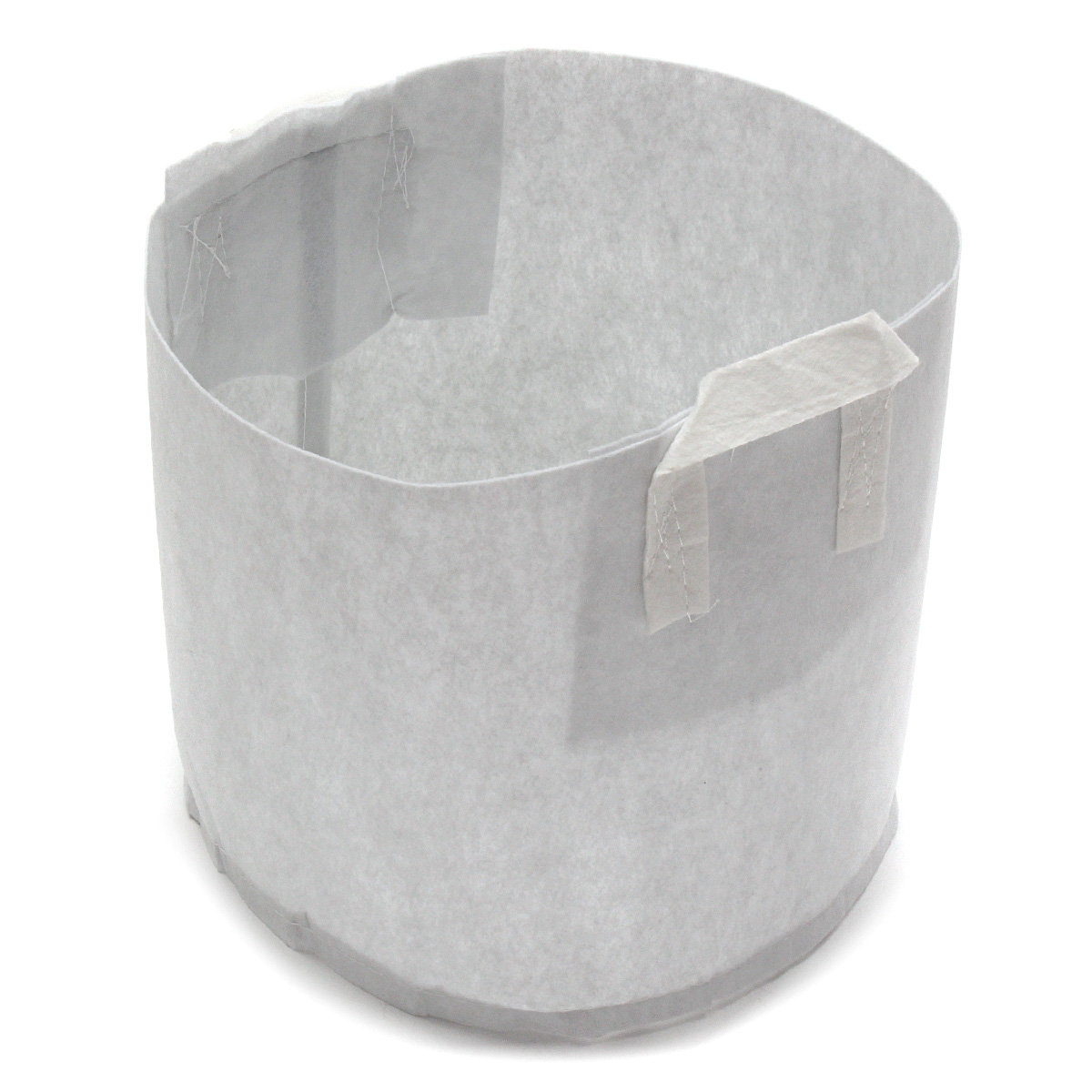 10Pcs Non-woven Round Fabric Pots Plant Pouch Root Container Grow Bag Aeration Container