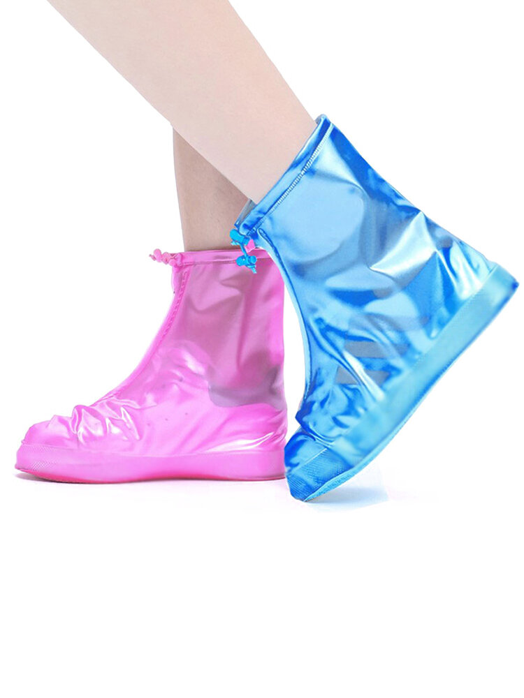 Mujer Waterpoof Antideslizante Lluvia Botas Cubrezapatos