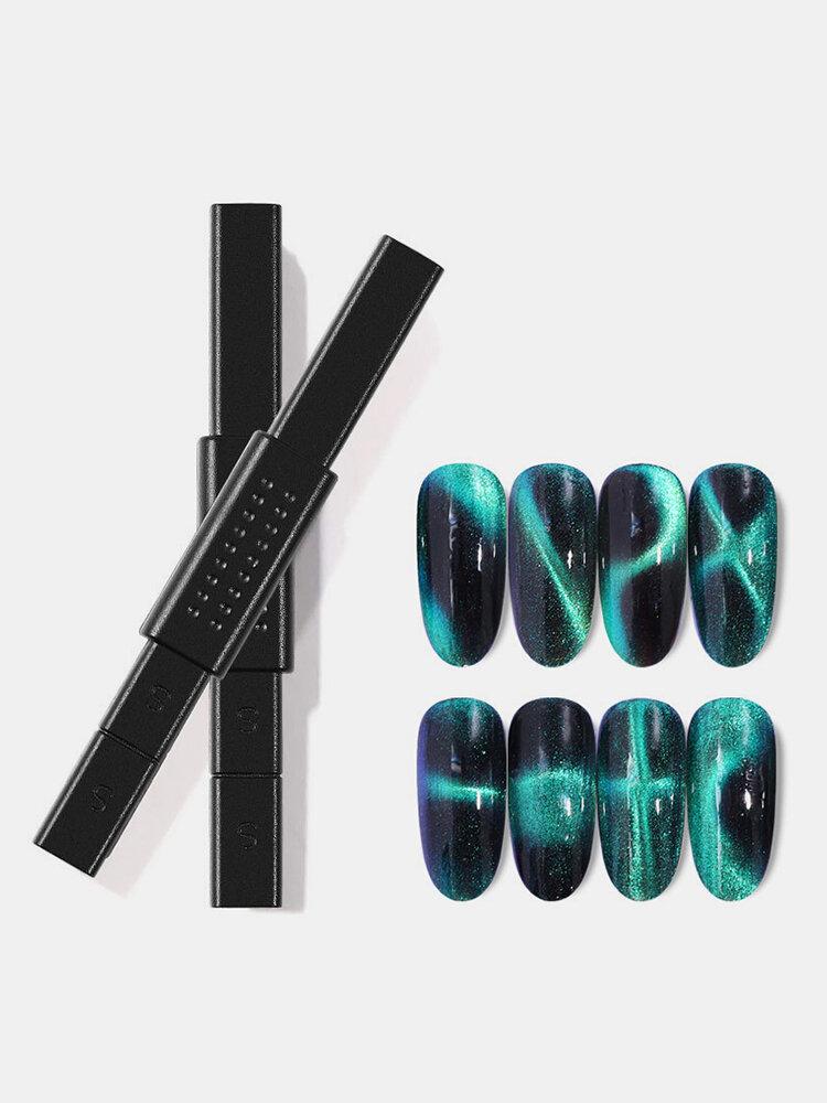 Cat Eye Magnet Bar Rod Nail Design Flower Handle Strip Magic Wand DIY Cat Eye Gel Magnetic Stick