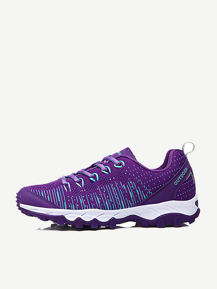Women Sports Running Breathable Mesh Soft Casual Shoes