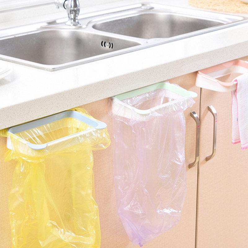مجلس الوزراء شنقا القمامة حقيبة حامل القمامة تخزين الرف المطبخ خزانة شماعات