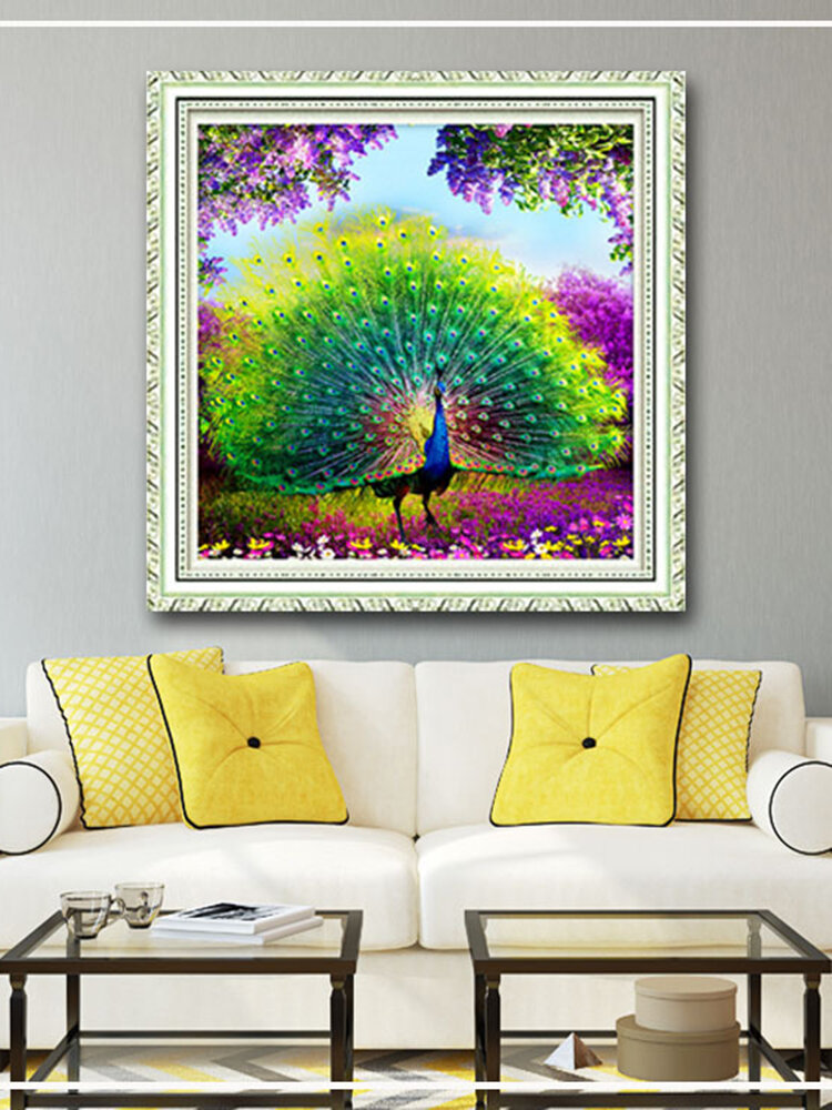 Peacock Diamond Painting Home Wall Art Home Decor