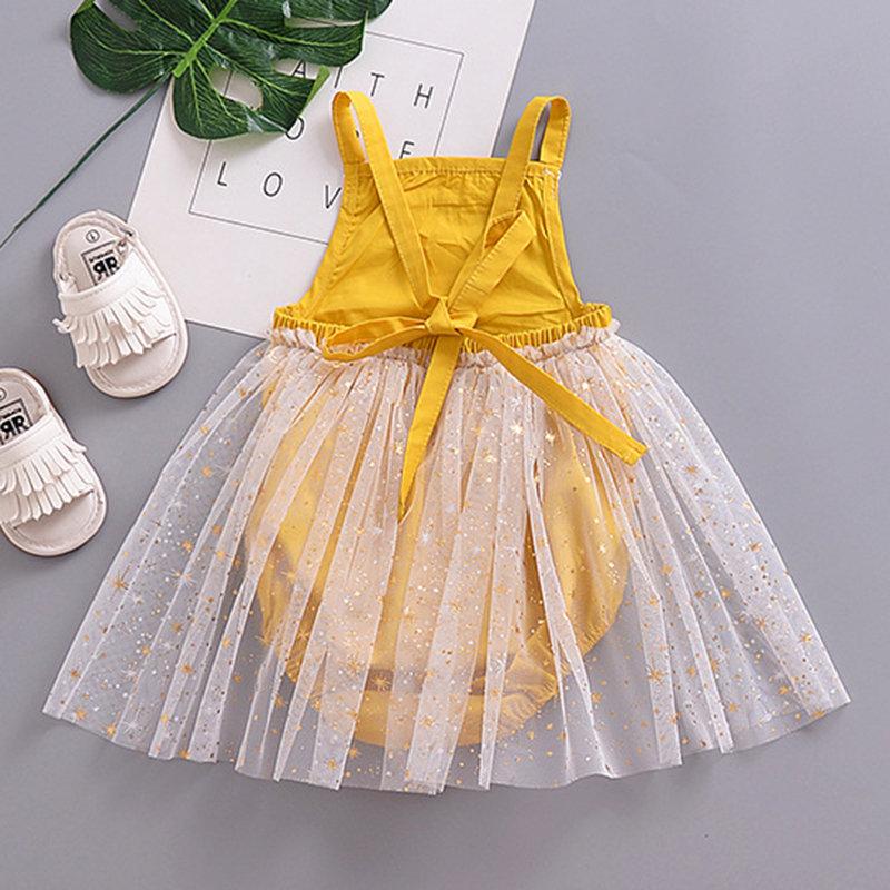 Barboteuses mignonnes de conception de patch de tulle de filles de bébé pour 0-24M