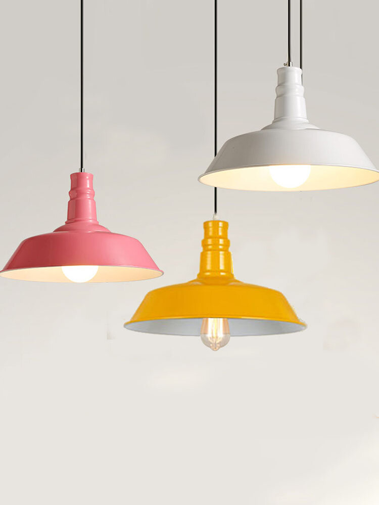 Modern Industrial Metal Style Ceiling Pendant Light Lamp Shades Lampshade Decor