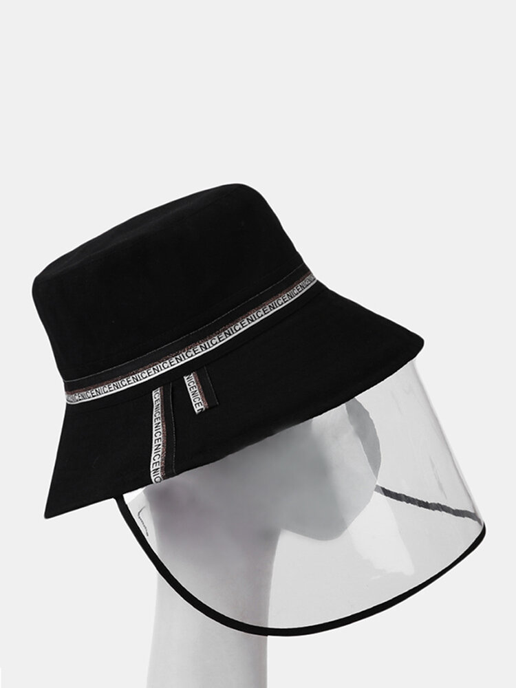 COLLROWN Removable Sun Visor Fisherman Hat Anti-droplet Cap Cover Face