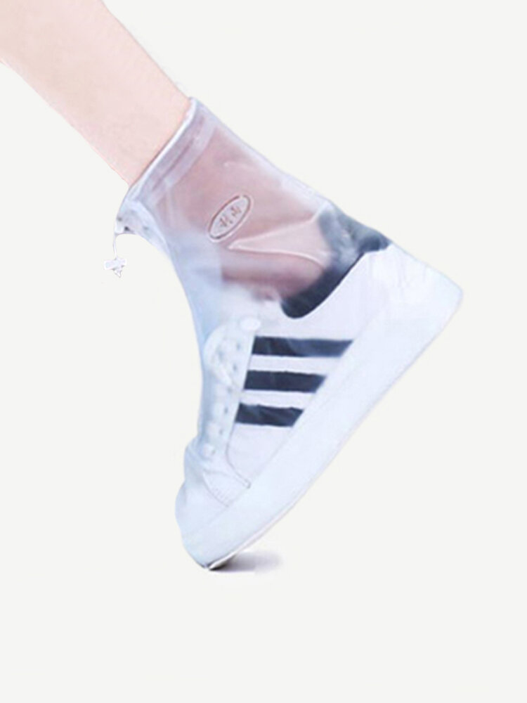 Waterproof Non Slip Thickening Wearable Portable Rain Boot Shoes Cover