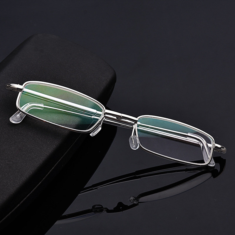 Stretchable Foldable Magnifying Presbyopic Resin Lens Reading Glasses Eye Health Care