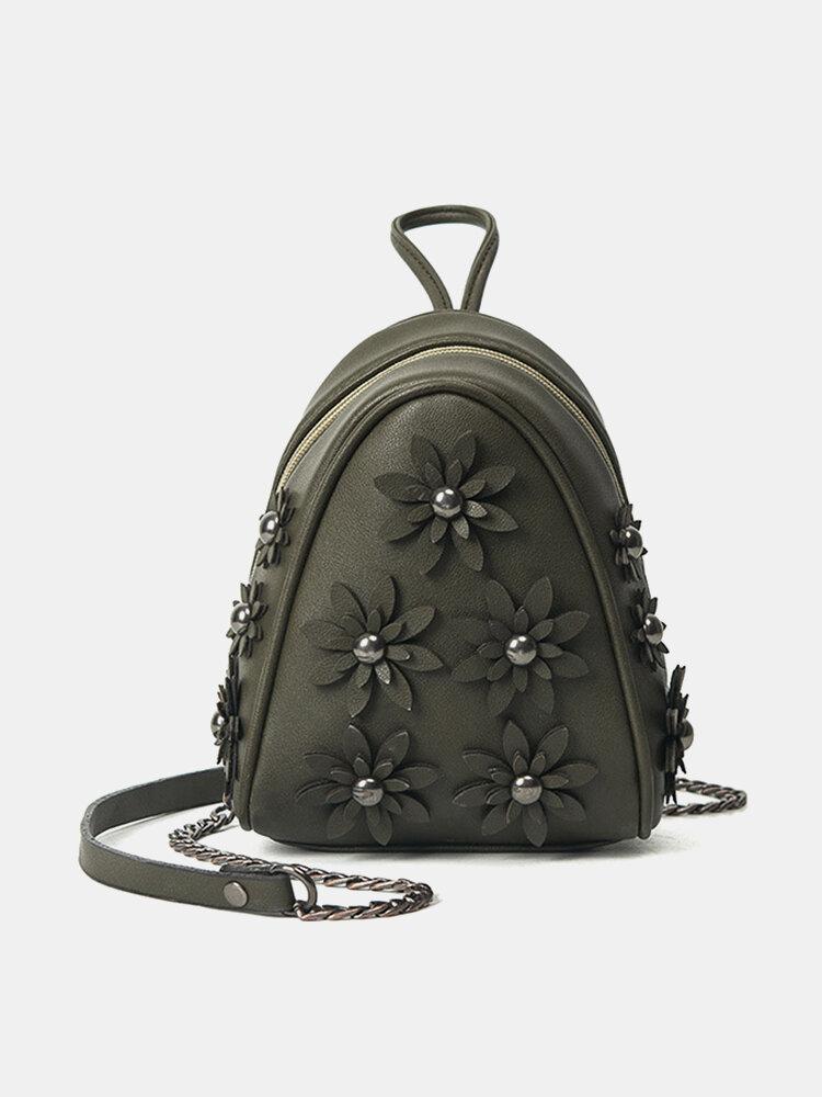 Stylish Flower Pattern Phone Bag Crossbody Bags Shoulder Bags For Women