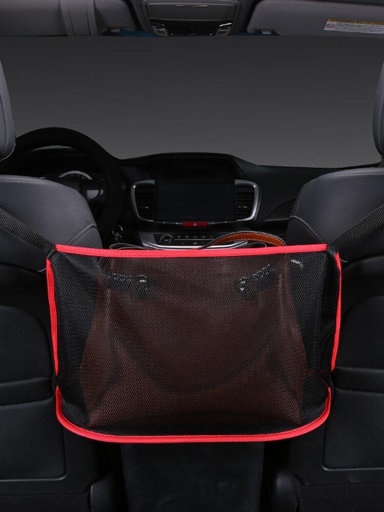車の収納バッグネットポケットハンドバッグホルダーシートバック折りたたみ収納ハンギングバッグ
